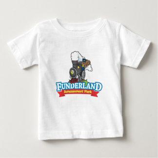 Funderland公園 ベビーTシャツ