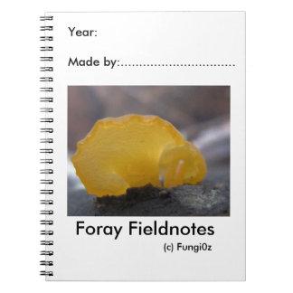 Fungi0zによる分野の博物学者のノート ノートブック