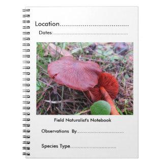 FungiOz著分野の博物学者のノート ノートブック