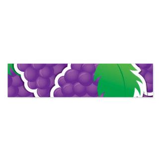 Funky purple grapes ナプキンバンド