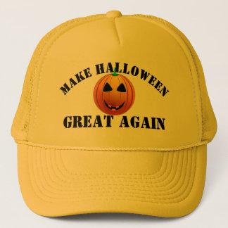 Funny American pumpkin Halloween キャップ