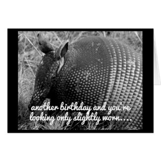 funny armadillo birthday card humor カード