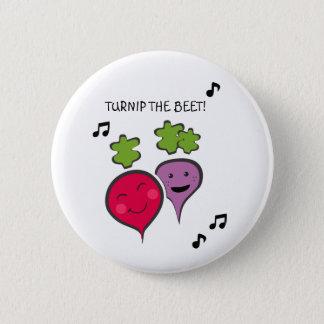 Funny Button 5.7cm 丸型バッジ
