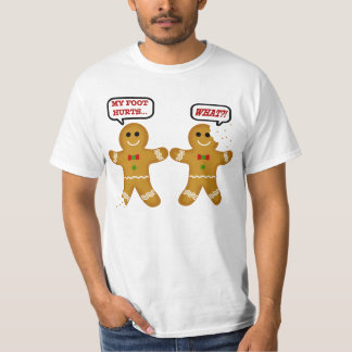 Funny Gingerbread Man Christmas Tシャツ