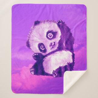 Funny Panda シェルパブランケット