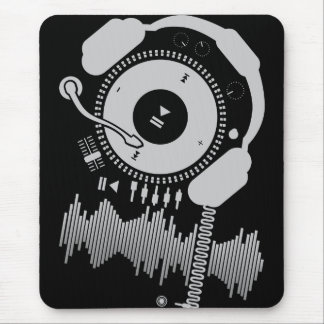 Funny_Record マウスパッド