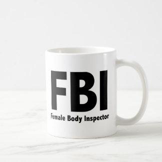 funny Rude Humor FBIの氏 コーヒーマグカップ