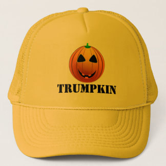 Funny Trump Trumpkin pumpkin Halloween キャップ