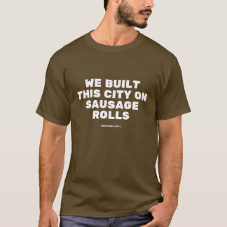 Funny typographic misheard song lyrics tシャツ