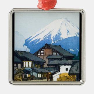 Furatsu吉田からの涼しい東洋の日本語富士 メタルオーナメント