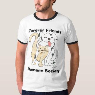 Fureverの友人の慈悲深い社会のロゴのティー Tシャツ