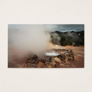 Furnasの火山-小型のカレンダー 名刺