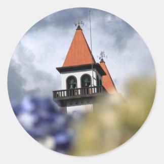 Furnas -アゾレスの教会 ラウンドシール