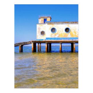 Fusetaのビーチ ポストカード
