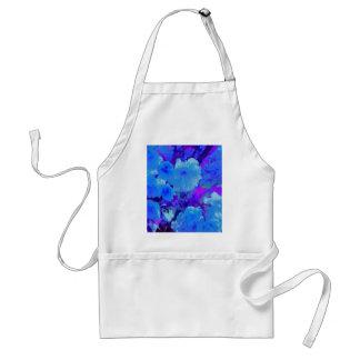 Fushiaの華麗で明るく青い花 スタンダードエプロン