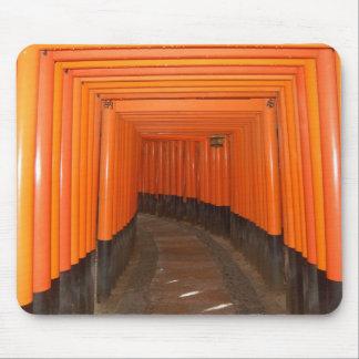 Fushimi Inari Toriiのマウスパッド マウスパッド