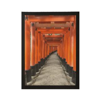 #FushimiInariTaishaShrineの#Kyotoの#Japan #Postcard ウッドポスター