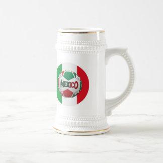 FUTBOLメキシコ ビールジョッキ