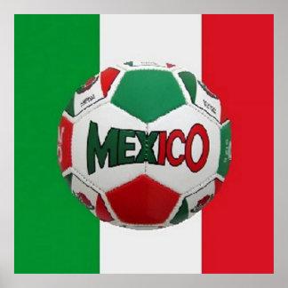 FUTBOLメキシコ ポスター