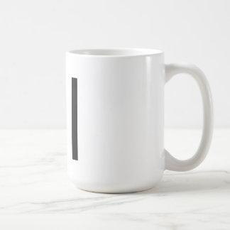 """Futuraのタイポグラフィ""""私が""""襲う コーヒーマグカップ"""