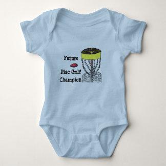 Future Disc Golf Champion baby onsie bodysuit ベビーボディスーツ