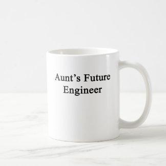 Future Engineer叔母さんの コーヒーマグカップ
