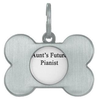 Future Pianist叔母さんの ペットネームタグ