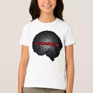 Futuro Primitivo -神経の迷路のロゴ Tシャツ