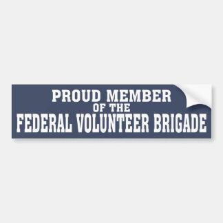 FVBの誇り高いメンバー バンパーステッカー