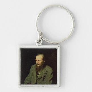 Fyodor Dostoyevsky 1872年のポートレート キーホルダー