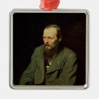 Fyodor Dostoyevsky 1872年のポートレート メタルオーナメント