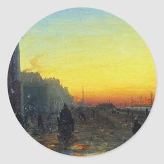 Fyodor Vasilyev著セント・ピーターズバーグの夜明け ラウンドシール