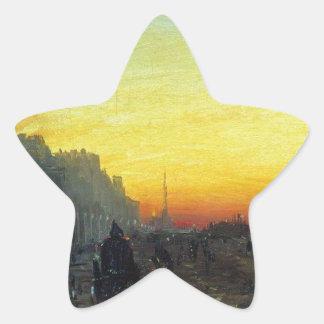 Fyodor Vasilyev著セント・ピーターズバーグの夜明け 星シール