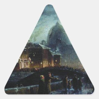 Fyodor Vasilyev著セント・ピーターズバーグの照明 三角形シール