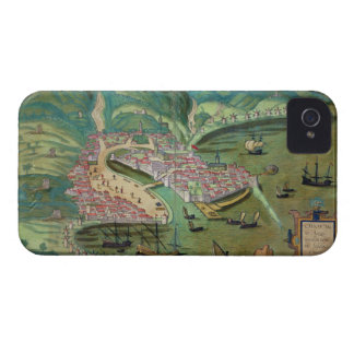 Gによる「Civitates Orbis Terrarum」からのキオスの地図、 Case-Mate iPhone 4 ケース