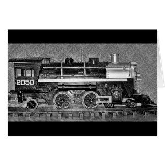 Gのスケール・モデルの列車 カード