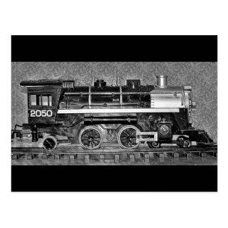 Gのスケール・モデルの列車 ポストカード