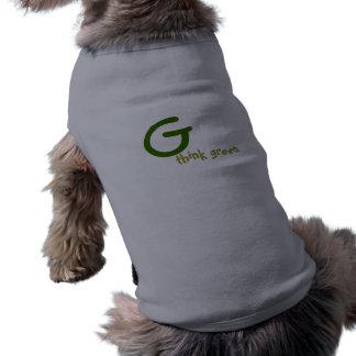 Gの環境を考える ペット服