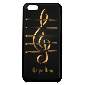 Gのcleff音楽Carpe DiemのiPhoneの場合 iPhone5Cケース