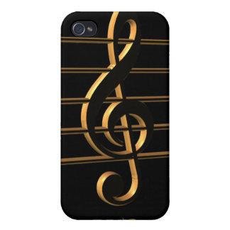 Gのcleff音楽Carpe DiemのiPhoneの場合 iPhone 4 カバー