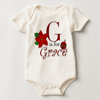 Gは優美、ベビーの初めてのクリスマスのティーのためです ベビーボディスーツ