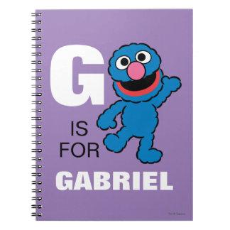 Gは|があなたの名前を加えるグローバーのためです ノートブック