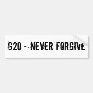 G20 バンパーステッカー