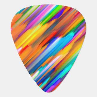 G391をはねかけるギターピックのカラフルなデジタル芸術 ギターピック