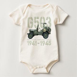 G503 Onesey ベビーボディスーツ