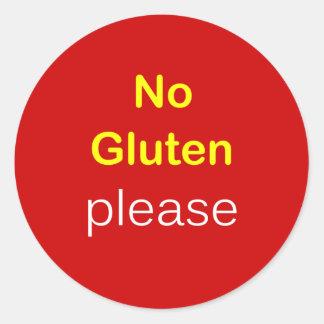 g5 -食糧要求~グルテン無しお願いします ラウンドシール