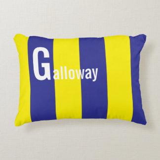 「G」の一流の航海のな海上旗の枕 アクセントクッション