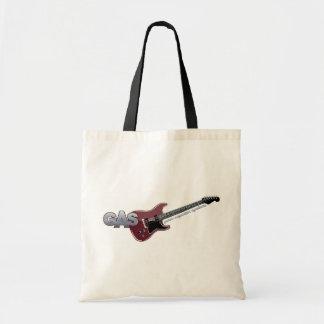 G.A.S. 赤いエレキギター トートバッグ