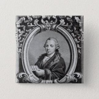 G. Batta Cechi著刻まれるピエトロNardini 5.1cm 正方形バッジ