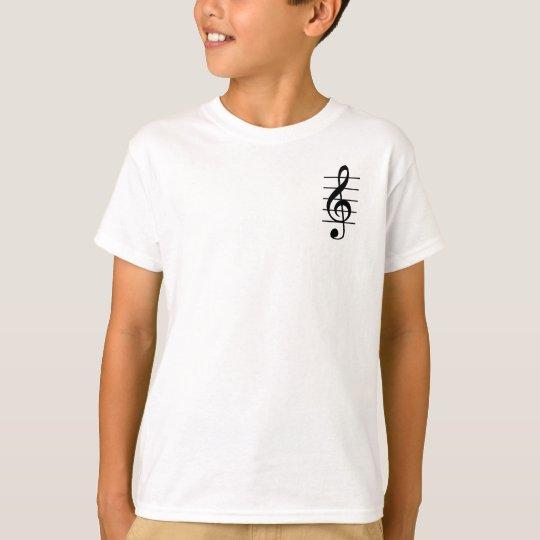 G clef tシャツ